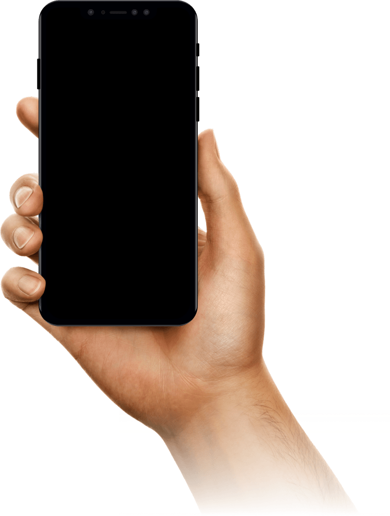 Hand with a phone
