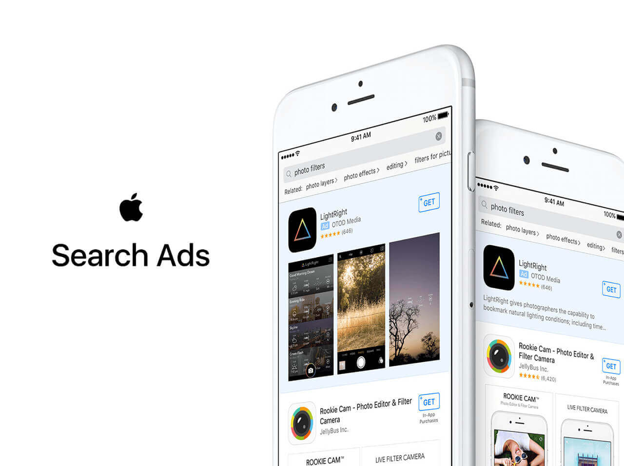 apple store search ads