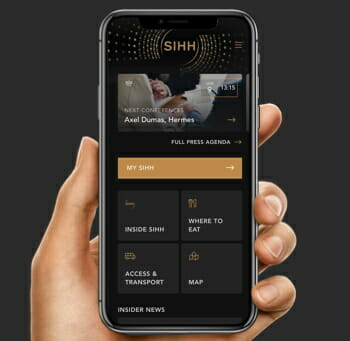 SIHH - A luxury event app