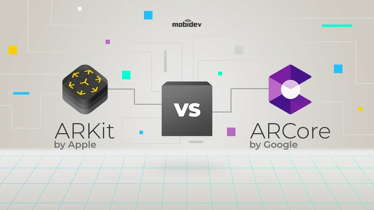 arkit vs arcore compa